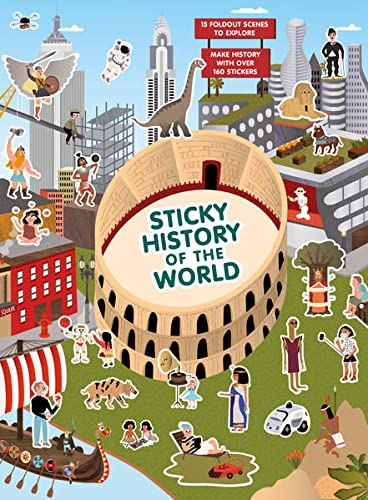 Sticky History of the World (Magma for Laurence King) von Laurence King Publishing