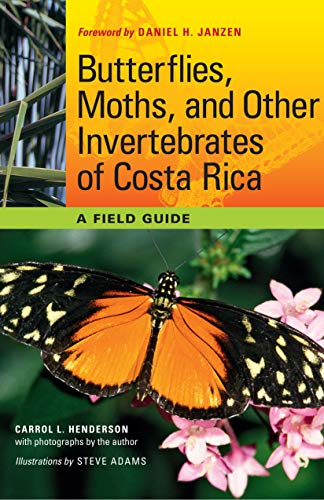 Butterflies, Moths, and Other Invertebrates of Costa Rica: A Field Guide (The Corrie Herring Hooks Series, Band 65)