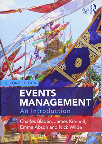 Events Management: An Introduction von Taylor & Francis Ltd.