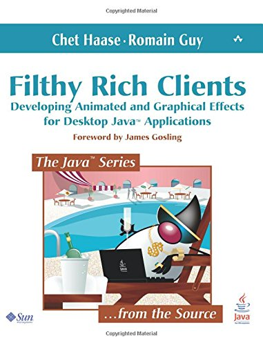 Filthy Rich Clients: Developing Animated and Graphical Effects for Desktop Java Applications (Java Series)
