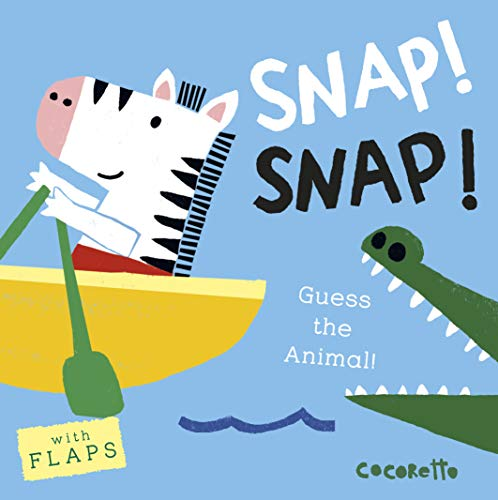 What's that Noise? SNAP! SNAP!: Guess the Animal! von Child's Play International Ltd