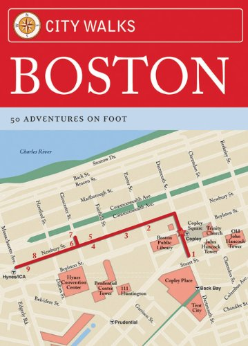 City Walks: Boston: 50 Adventures on Foot von Chronicle Books