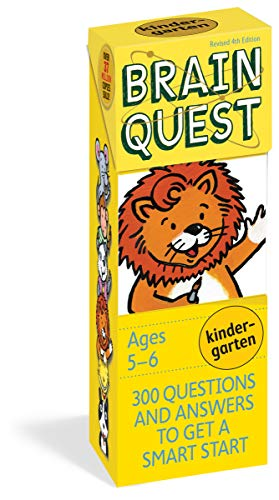FLSH CARD-BRAIN QUEST KINDERGA