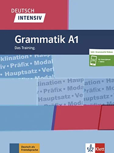Deutsch intensiv Grammatik A1: Das Training. Buch + online