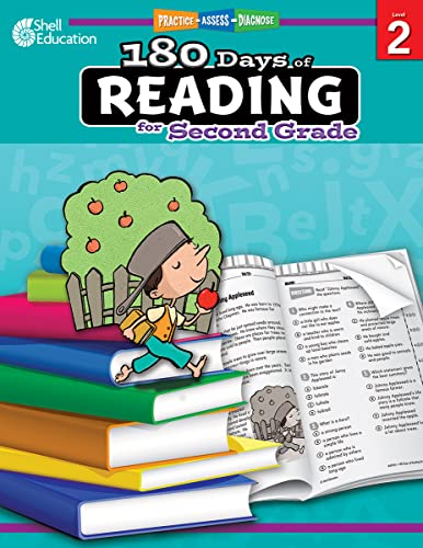 180 Days of Reading for Second Grade (Practice, Assess, Diagnose) von Shell Education