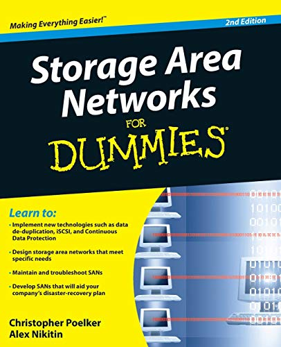 Storage Area Networks for Dummies, 2nd Edition (For Dummies Series) von For Dummies