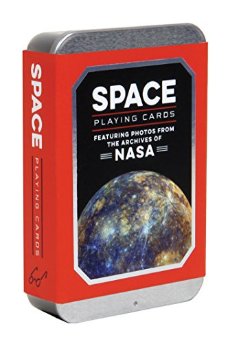 Space Playing Cards (NASA Playing Cards, Space Game, Playing Cards, Space Game): Featuring Photos from the Archives of NASA (Games) von CHRONICLE BOOKS