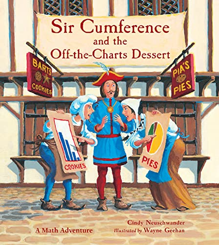 Sir Cumference and the Off-the-Charts Dessert (Charlesbridge Math Adventures (Paperback))