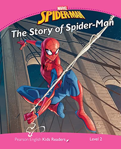 Level 2: Marvel's The Story of Spider-Man (Pearson English Kids Readers) von Pearson Education