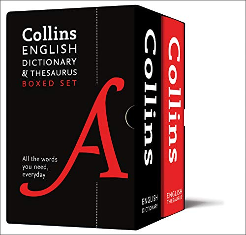 Collins English Dictionary and Thesaurus Boxed Set: All the Words You Need, Every Day (Collins Dictionaries) von HarperCollins Publishers