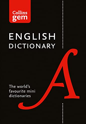 Collins English Gem Dictionary: The World's Favourite Mini Dictionary (Collins Gem)