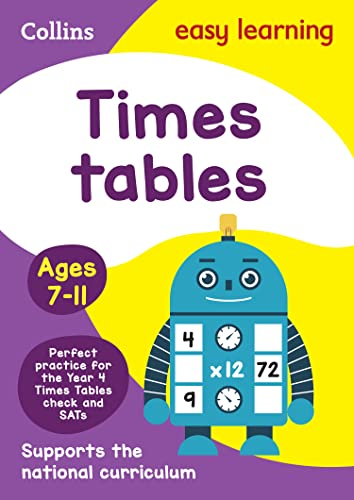 Times Tables Ages 7-11: New Edition (Collins Easy Learning)