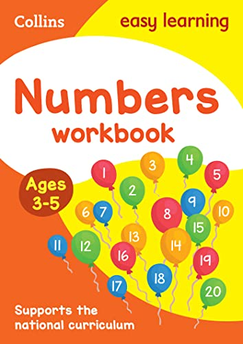 Numbers Workbook: Ages 3-5 (Collins Easy Learning Preschool) von HARPERCOLLINS UK