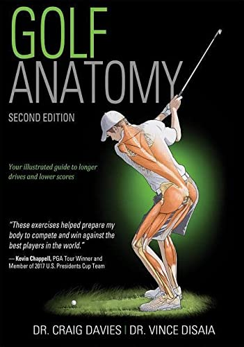Golf Anatomy 2nd Edition von Human Kinetics