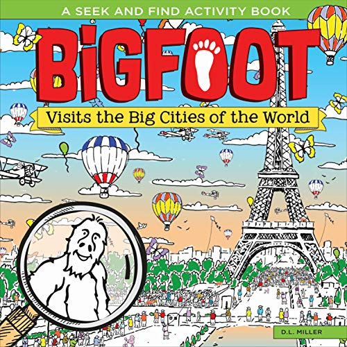 Bigfoot Visits the Big Cities of the World von Happy Fox
