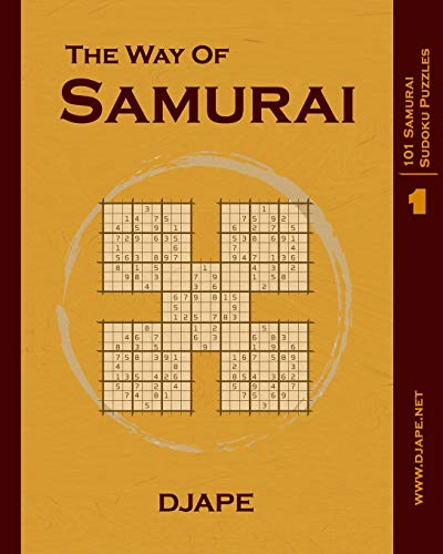 The Way of Samurai: 101 Samurai Sudoku puzzles
