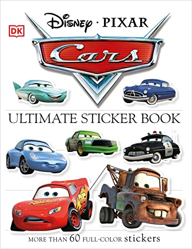 Ultimate Sticker Book: Cars: More Than 60 Reusable Full-Color Stickers von DK Children