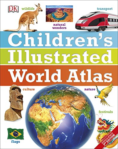 Children's Illustrated World Atlas (Childrens Atlas) von Dorling Kindersley Uk