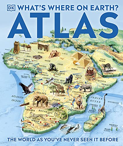 What's Where on Earth Atlas: The World as You've Never Seen It Before! (Childrens Atlas) von Dorling Kindersley Ltd.