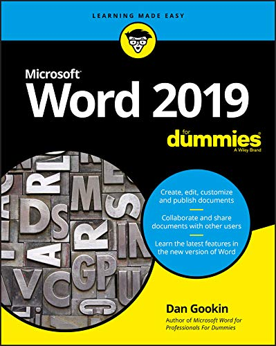 Word 2019 For Dummies von For Dummies