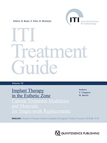 ITI Treatment Guide Vol 10: Implant Therapy in the Esthetic Zone (ITI Treatment Guide Series (Engl.)) von Quintessenz, Berlin
