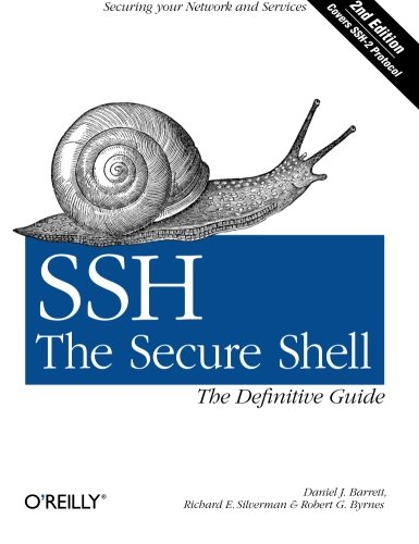 SSH, The Secure Shell: The Definitive Guide von O'Reilly and Associates