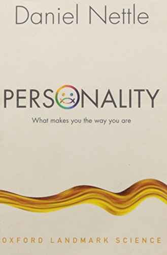 Personality: What makes you the way you are (Oxford Landmark Science) von Oxford University Press