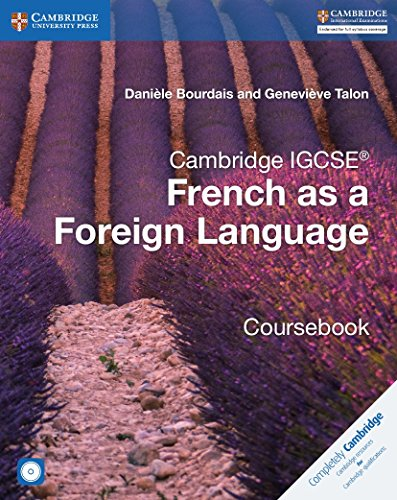 Cambridge IGCSE® and O Level French as a Foreign Language Coursebook with Audio CDs (2) (Cambridge International IGCSE) von Cambridge University Press