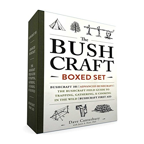 The Bushcraft Boxed Set: Bushcraft 101; Advanced Bushcraft; The Bushcraft Field Guide to Trapping, Gathering, & Cooking in the Wild; Bushcraft First Aid von Adams Media