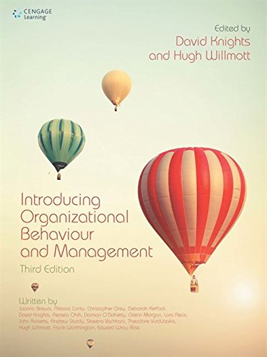 Introducing Organizational Behaviour and Management