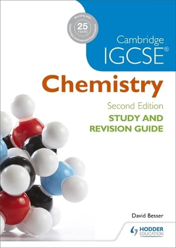 Cambridge IGCSE Chemistry Study and Revision Guide (Igcse Study Guides) von Hodder Education
