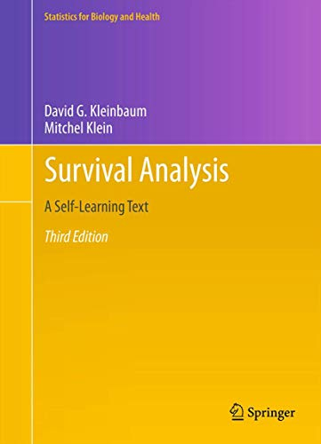 Survival Analysis: A Self-Learning Text, Third Edition (Statistics for Biology and Health) von Springer-Verlag GmbH