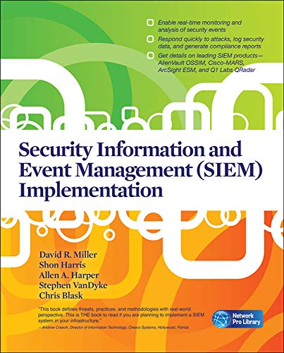 Security Information and Event Management (Siem) Implementation (Network Pro Library) von McGraw-Hill Osborne Media