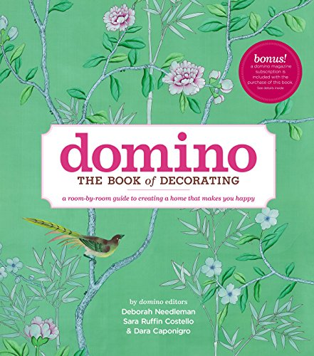 Domino: The Book of Decorating: A room-by-room guide to creating a home that makes you happy (DOMINO Books) von Simon + Schuster Inc.