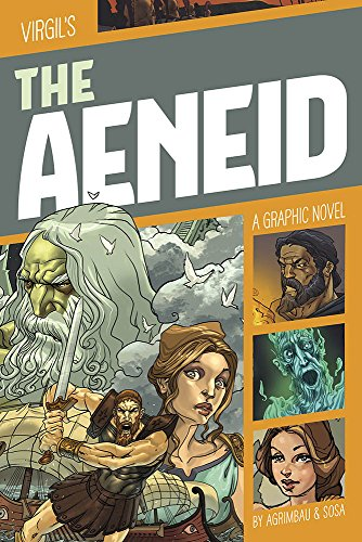 The Aeneid: A Graphic Novel (Graphic Revolve: Classic Fiction)