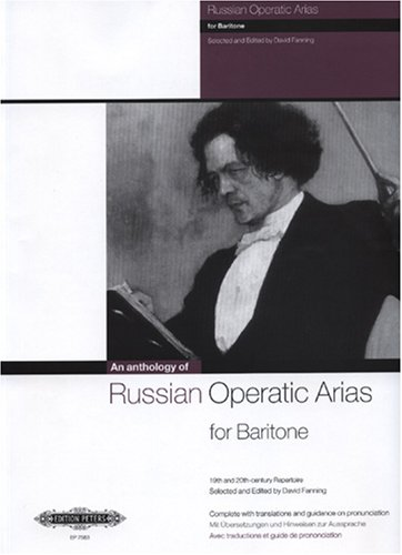 An Anthology of Russian Operatic Arias for Baritone. Gesang Mittel, Bariton, Klavier