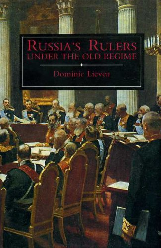 Russia's Rulers Under the Old Regime von Yale University Press