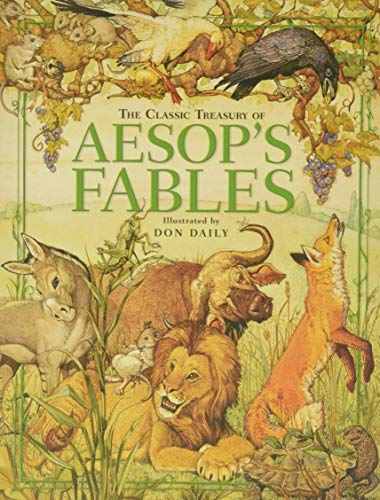 The Classic Treasury of Aesop's Fables von Running Press Kids