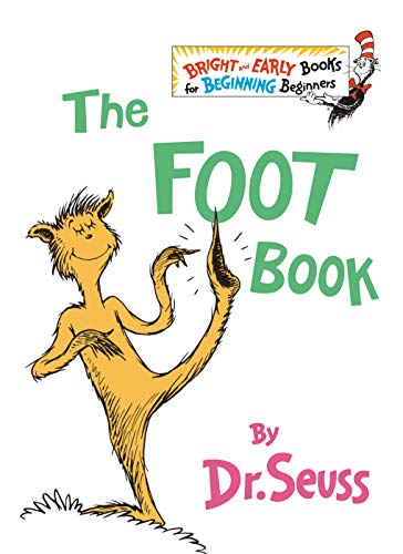 The Foot Book (Bright & Early Books(R)) von Random House Books for Young Readers