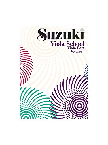 Suzuki Viola School Volume 4 Part. Für Bratsche von Alfred Publishing