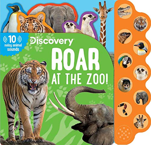 Discovery: Roar at the Zoo! (10-Button Sound Books) von Silver Dolphin Books