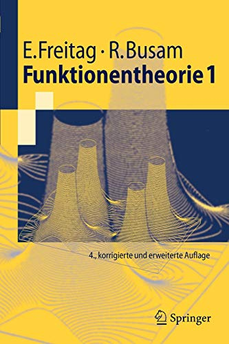 Funktionentheorie 1 (Springer-Lehrbuch) (German Edition) von Springer, Berlin