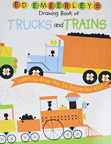 Ed Emberley's Drawing Book of Trucks and Trains von LB Kids