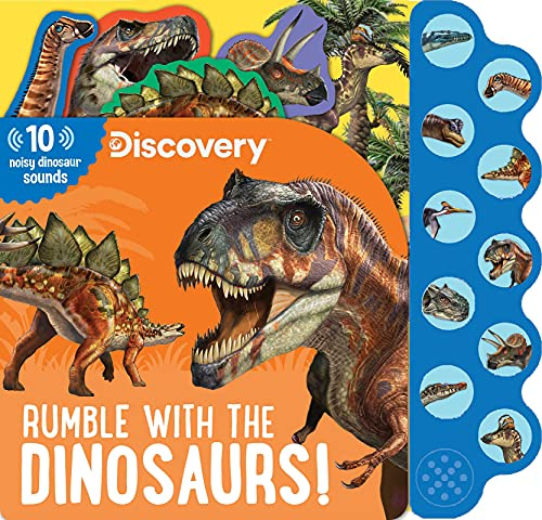 Discovery: Rumble with the Dinosaurs! (10-Button Sound Books) von Silver Dolphin Books