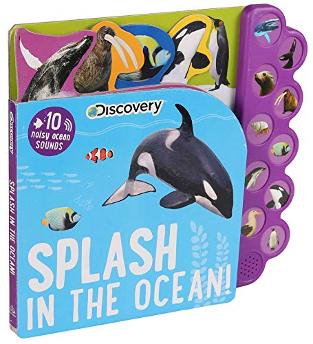 Discovery: Splash in the Ocean! (10-Button Sound Books) von Silver Dolphin Books