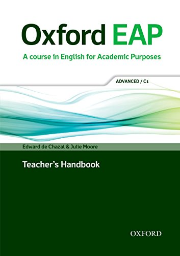 Oxford EAP: Advanced/C1: Teacher's Book, DVD and Audio CD Pack (English for Academic Purposes)
