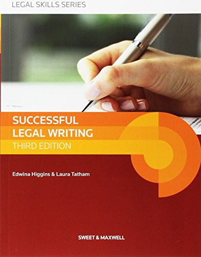 Successful Legal Writing (Latest Edition 2015)