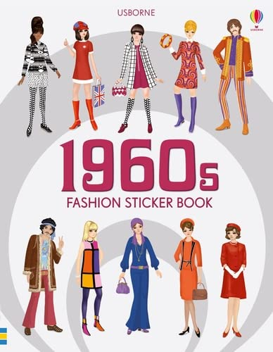 Bone, E: 1960s Fashion Sticker Book (Sticker Books) von Usborne Publishing Ltd