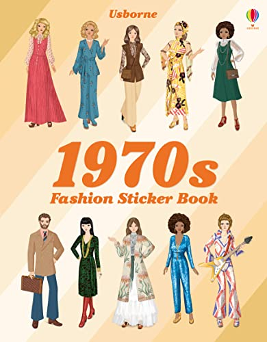 1970s Fashion Sticker Book (Sticker Books)
