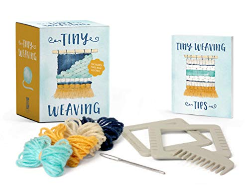 Tiny Weaving: Includes Two Mini Looms! von RP Minis